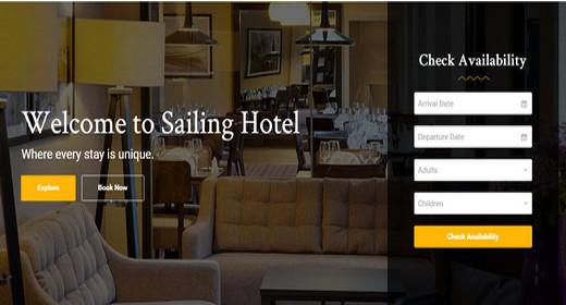 Amazing Hotel Theme WordPress