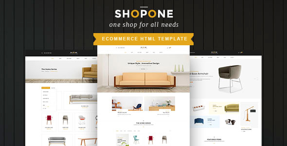ShopONE - Furniture  HTML Store