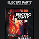 Electro Party/ Party Flyer/Poster Template