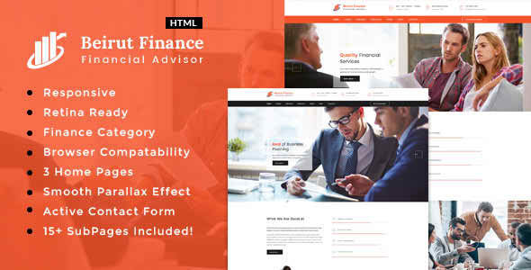 Beirut : Business, Finance and Consultancy Template  (Business) images
