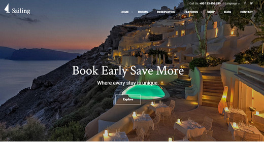 Best Hotel WordPress Theme 2016