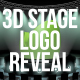 3D Stage Logo Reveal