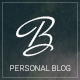 Blogius | Powerful Responsive Personal Blog Theme