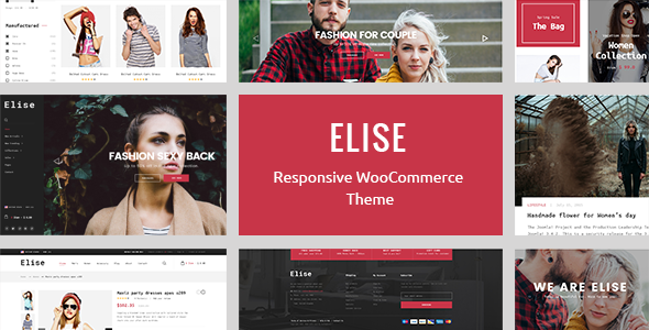 Elise - A Genuinely Multi-Concept WooCommerce Theme