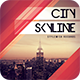 City Skyline CD Cover Artwo-Graphicriver中文最全的素材分享平台