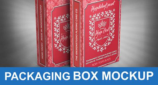 Boxes Mockup PSD