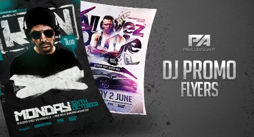 DJ Promo Flyers