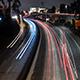 Night Los Angeles City Traffic