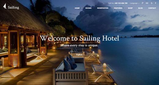Theme WordPress Hotel