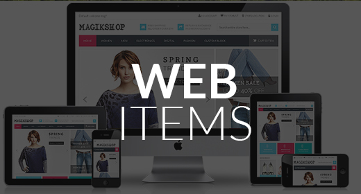 Web Page Items