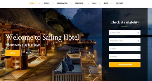 Awesome WordPress Hotel Theme