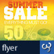 Summer Sale Commerce Advert Flyers - GraphicRiver Item for Sale