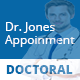Doctoral Appointment Multipage | Landing Page Theme