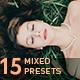 15 Mixed Lightroom Presets