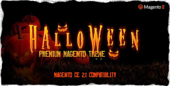 Halloween - Responsive Magento 2 Theme