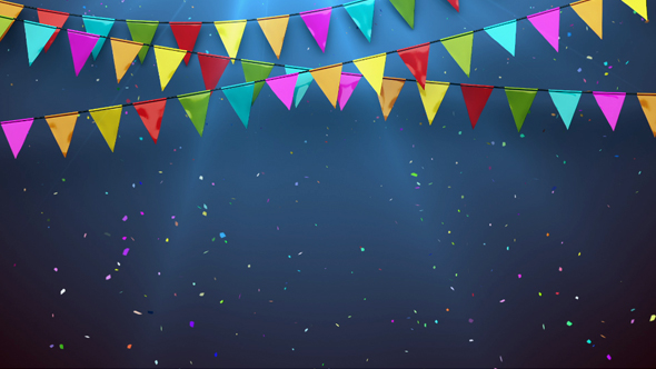 Festival Flags Background By Shkirskiy Videohive