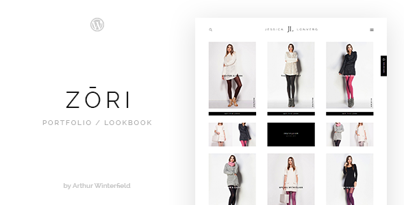 Download Zori: A Portfolio/Lookbook WordPress Theme nulled download