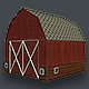 Basic Barn Low Poly