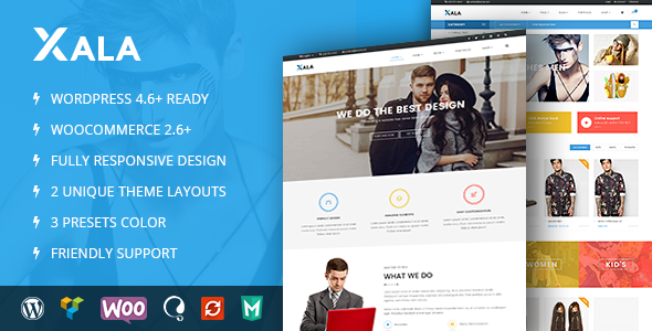 VG Xala - Clean and Responsive WooCommerce WordPress Theme