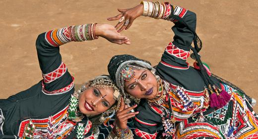 Kalbelia Dancers of India