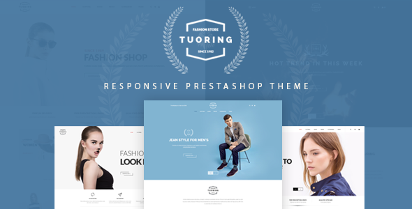 Image of Tuoring - Multipurpose Responsive Prestashop Theme