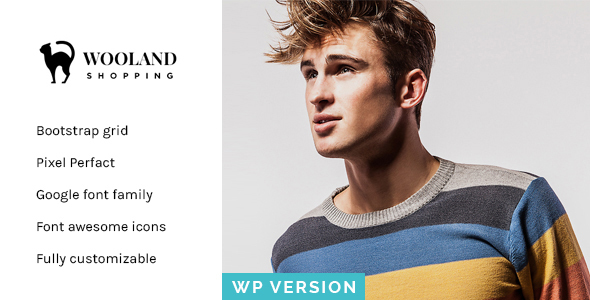 Wooland - Responsive WooCommerce WordPress Theme