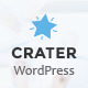 Crater Consulting Business, Finance WordPress Theme