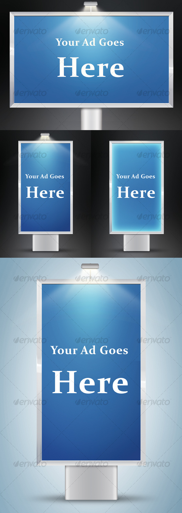 GraphicRiver Layered Advertising Boards 68192