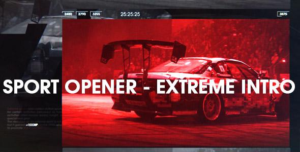 Sports Opener - Extreme Intro