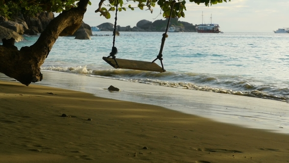 Download A Rope Swings On The Beach nulled download