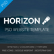 Horizon - Multipurpose PSD Template