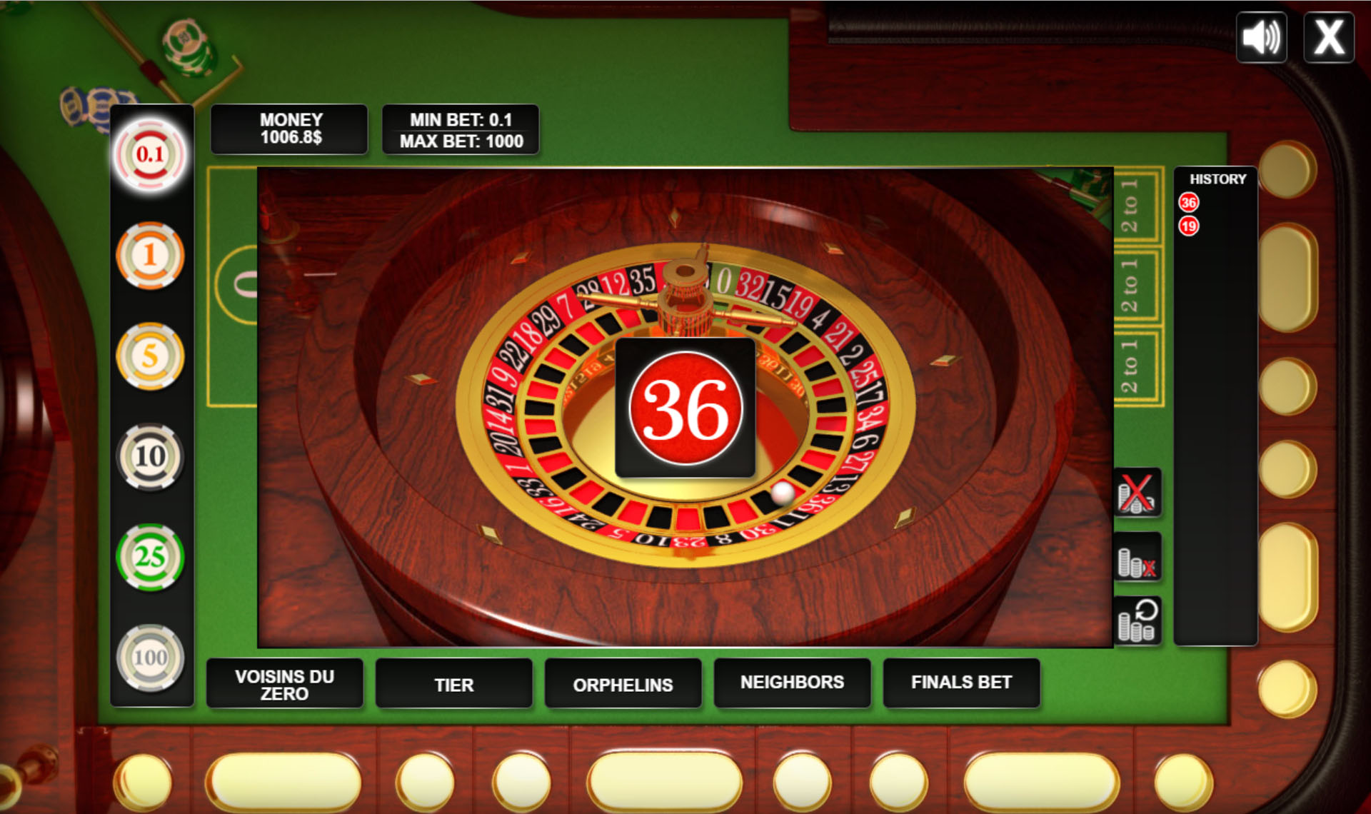 Royale casino game