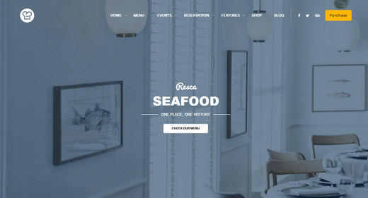 WordPress Themes Restaurant 2016