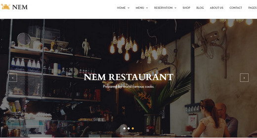 Restaurant WordPressThemes