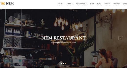 Restaurant WordPressTheme 2016