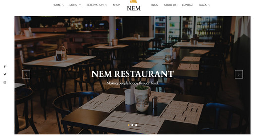 Awesome Restaurant WordPress Themes 2016