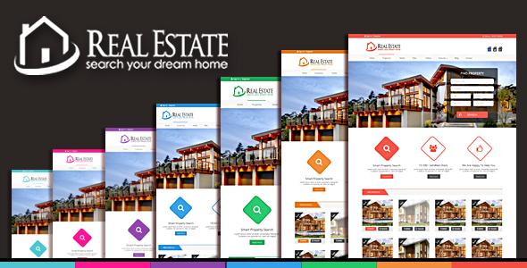 Download Real Estate & Blog html