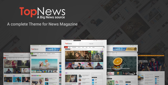 Download Top News - News/Magazine WordPress Theme nulled download