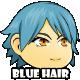 Game Asset : Blue Hair Girl