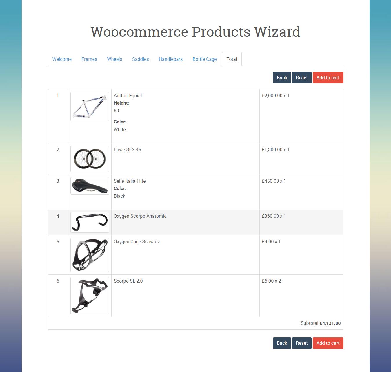 Woocommerce products wizard wpmeta baditri Choice Image