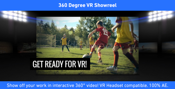 Download 360 Degree VR Showreel nulled download