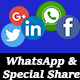Social & WhatsApp Sharing