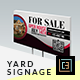 Download Modern Real Estate Yard Signage 1 from GraphicRiver