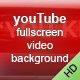 youTube fullscreen video background - ActiveDen Item for Sale