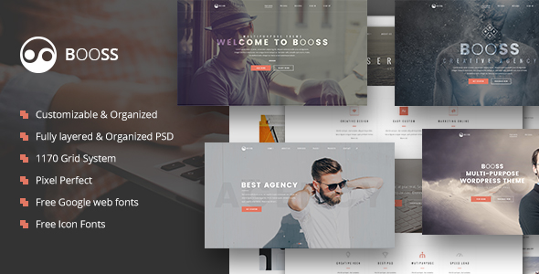 Booss | Creative Multipurpose Marketing HTML Template - 5