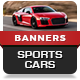 Sports Car Modern Banner Ads - HTML5 GWD Template