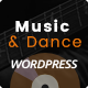 Music & Dance WordPress Theme