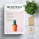 Blancmagz Magazine Template
