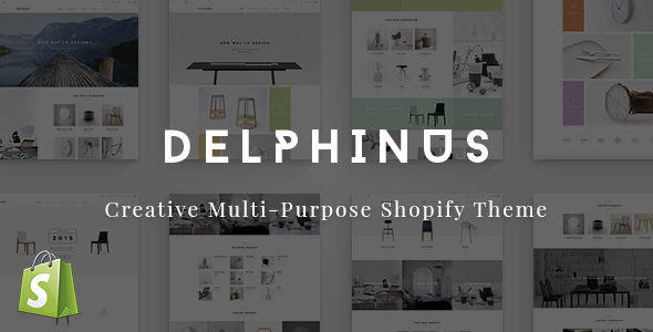 Delphinus - Creative Multi-Purpose Shopify Theme