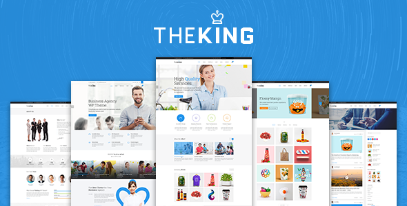 The King - Mulitpurpose Business Agency Bootstrap Template